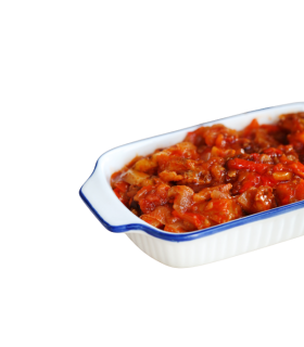 BACALAO CON TOMATE (350 G.)
